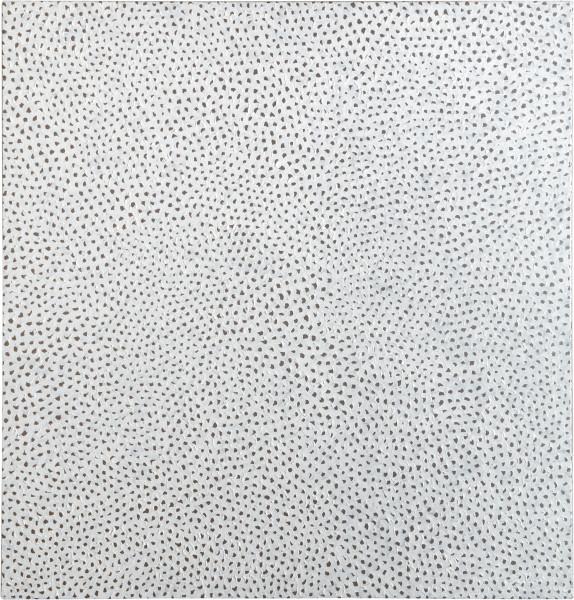 Yayoi Kusama INFINITY-NETS OOAZPB, 2008; acrylic on canvas ; 100 x 100 cm; enquire