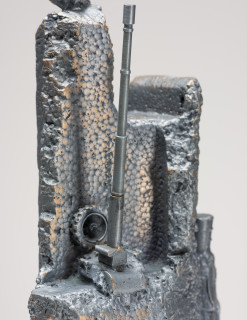 Fiona Hall Castles of Lost Destinies (detail), 2015; Cat no. 15; Bronze; 30 x 15 x 14 cm; enquire