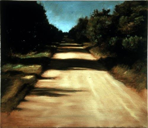Louise Hearman Untitled #306, 1993; oil on masonite; 46 x 39 cm; enquire