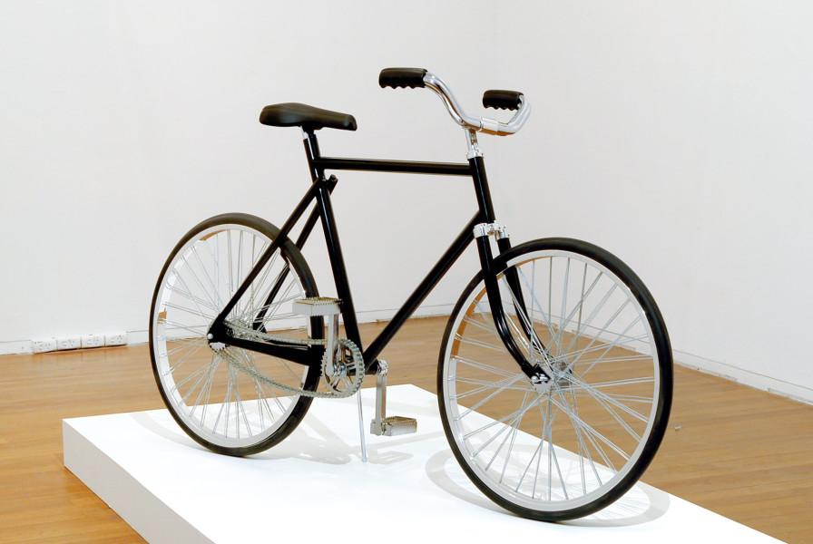 James Angus Bicycles, 2008; metal, rubber, paint; 108 x 54 x 182 cm; enquire