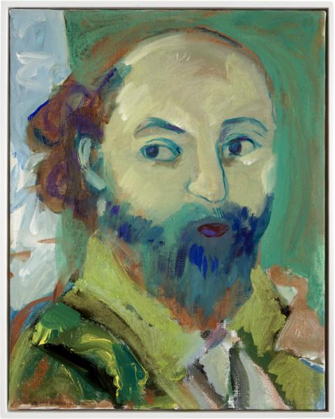 Angela Brennan Paul Cezanne, 2006; acrylic on linen; 51 x 40.5cm (unframed), 53 x 43cm (framed); enquire