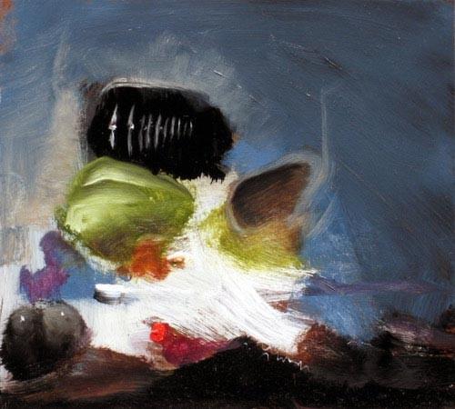 Louise Hearman Untitled #1173, 2005; oil on masonite; 23 x 25 cm; enquire