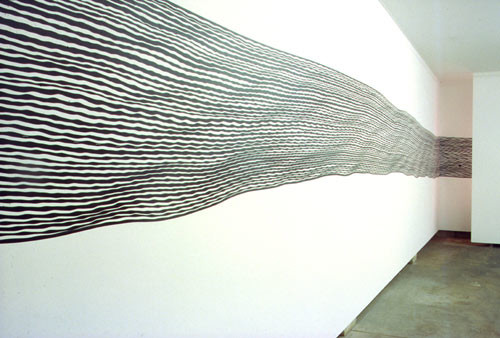 Hany Armanious Untitled Work, 1996-00; Adhesive vinyl; 60 x 360 cm; Edition of 5; enquire