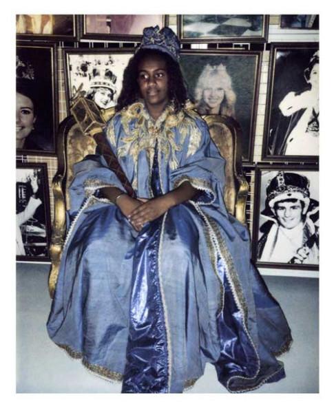 Destiny Deacon Moomba Princess, 2004; light jet print from Polaroid original ; 100 x 80 cm; Edition of 15; enquire