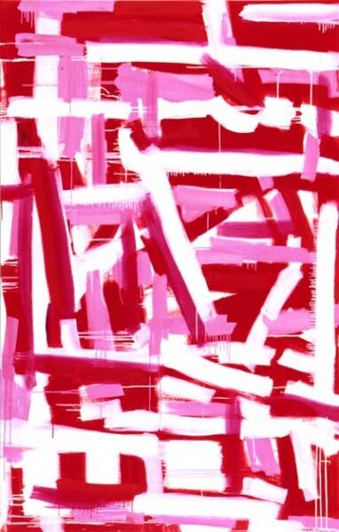 Angela Brennan Espace rouge, 2002; Oil on linen; 200 x 130 cm; enquire
