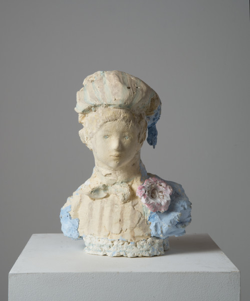 Linda Marrinon Camaieux, 2014; tinted and painted plaster; 35.5 x 24 x 15 cm; enquire