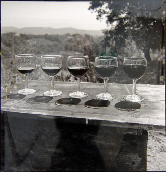 Bill Culbert Wine Real, France, 1996; silver gelatin prints; 40.5 x 40.5 cm; Edition of 25; enquire