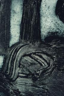 Nyapanyapa Yunupingu Djulpan (detail), 2019; 3939-19; collagraph on Hahnemuhle; 109 x 72 cm; Edition of 20; enquire