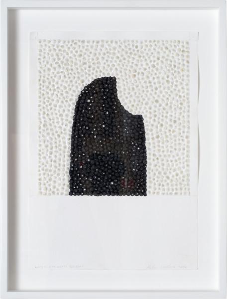 Rohan Wealleans White Man Meets Bigfoot, 2014; paint on paper; 42 x 29.5 cm; enquire