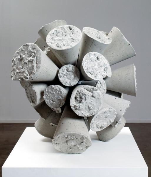 James Angus Concrete Cloudburst, 2008; concrete; 45cm diameter; Edition of 5 + AP 2; enquire