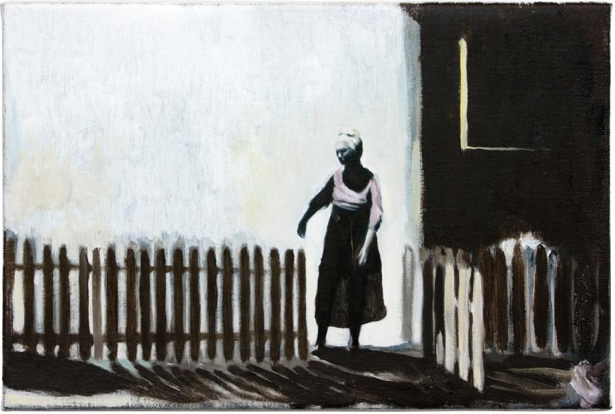 Glenn Sorensen Come in, 2011-12; oil on linen; 20 x 30 cm; enquire