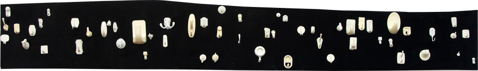 Hany Armanious Intelligent design, 2006; Cast pigmented polyurethane resin, form ply; 30.5 x 237.5 x 8 cm; enquire