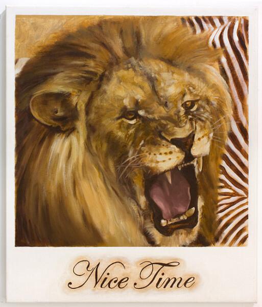Daniel Boyd Nice Time, 2009; oil on canvas; 66 x 56 cm; enquire
