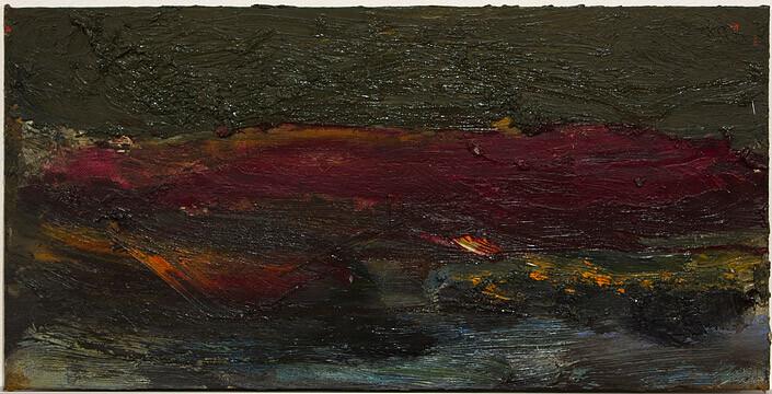 Tony Clark , 0; oil on canvas board; 20 x 40 cm; enquire