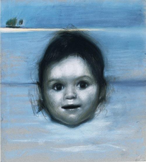 Louise Hearman Untitled #602, 1997; pastel on paper; 38 x 34 cm; enquire
