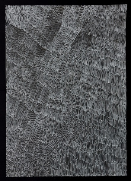 Nyapanyapa Yunupingu untitled, 2018; 4304C; paint pen on clear acetate; 84 x 60 cm; enquire