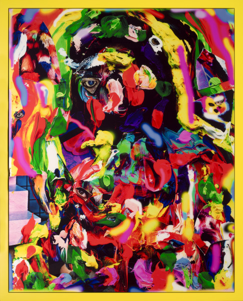 TV Moore Rainbow Cleopatra, 2013; cibachrome in unique frame; 168 x 135 cm; enquire