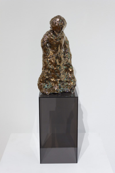 Mikala Dwyer The things in things, 2012; found objects, ceramic, glaze, epoxy filler; 26 x 14 x 6 cm; enquire