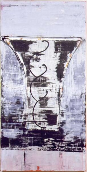 John Firth-Smith Shard, 2001; Oil on linen; 6 ft x 3 ft; enquire