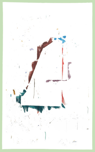 Hany Armanious Gyprock, 2018; eco-solvent vertical surface print on linen; 135 x 85 cm; Edition of 2 + AP 1; enquire