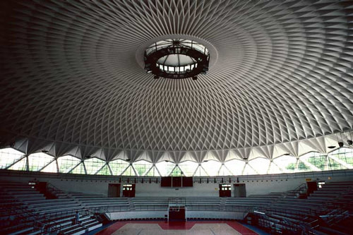 Harry Seidler Rome, Palazetto dello Sport, 2002; from the series Architect: Pier Luigi Nervi, completed 1957; 71 x 106.5 cm (image size) 95.5 x 125 cm (frame size) edition of 6; enquire