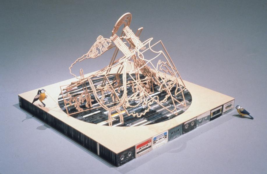 Tim Sterling Bomb, 2000; Mixed media; 82 x 82 x 53 cm; enquire