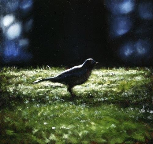Louise Hearman Untitled #1103, 2005; oil on masonite; 41 x 43 cm; enquire