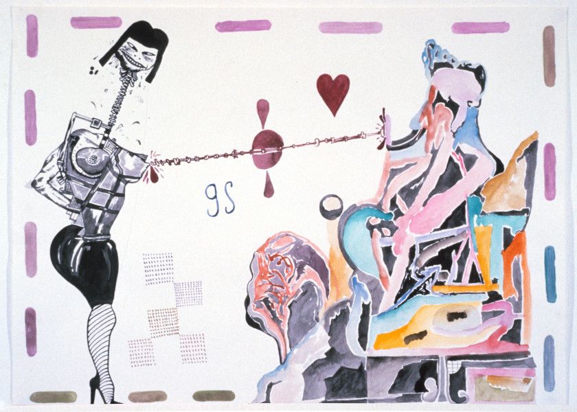 Gareth Sansom Zap, 1989; watercolour on paper; 56 x 76 cm; enquire