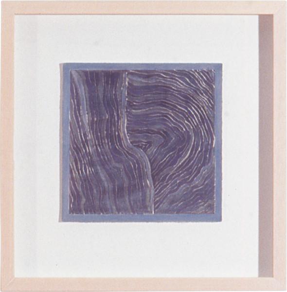 Savanhdary Vongpoothorn Augury, 1999; acrylic on paper; 23 x 23 cm; enquire