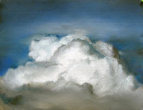 Louise Hearman Untitled #1071, 2004; pastel on coloured paper; 25 x 32 cm; enquire