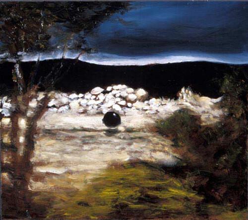 Louise Hearman Untitled #  1047, 2003; oil on masonite; 41 x 46 cm; enquire