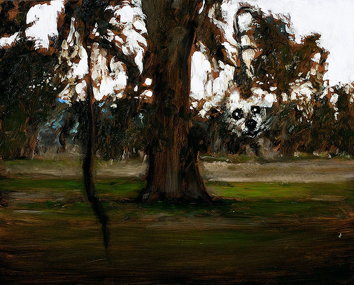 Louise Hearman Untitled #1306, 2008; oil on masonite; 61 x 76 cm; enquire