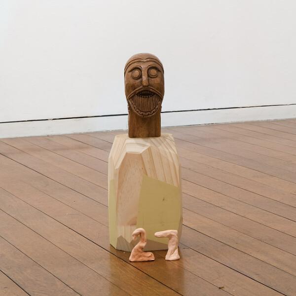 Mikala Dwyer 27, 2009; wood; 40 x 10 x 10 cm; enquire