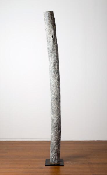 Nyapanyapa Yunupingu Untitled, 2016; 4234-16; Larrakitj; 249 x 17 x 17 cm; Enquire
