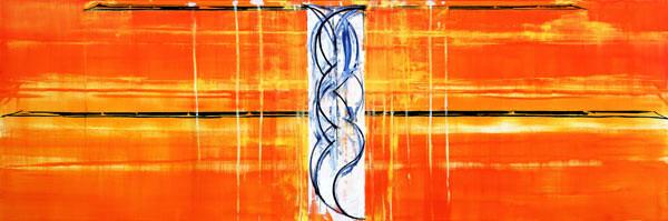 John Firth-Smith Venus, 2003; oil on linen; 5 x 15ft; enquire