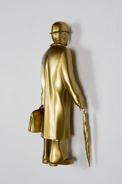 Michael Parekowhai Over the Rainbow, 2015; gold; fibreglass, automotive paint; 41 x 14 x 12 cm; enquire
