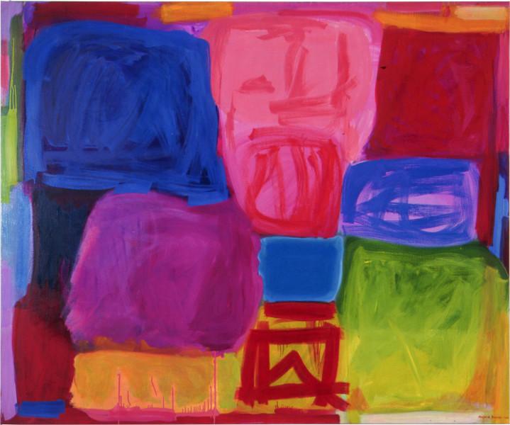 Angela Brennan Found Landscape III, 2002; Oil on linen; 180 x 220 cm; enquire