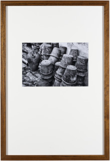 Newell Harry Trade Delivers People (sometimes): Vignettes for N.J., 2017; framed Lambda prints on Fuji Lustre paper, selected images from artist's archive (2007-2017), hand-typed texts on parchment paper (transcribed from travel journals 2005-17), artist's stamp; 65 x 45 cm; Edition of 2 + AP 1; enquire
