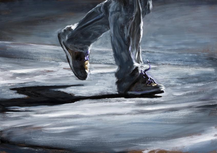 Louise Hearman Untitled #1334, 2011; Oil on masonite; 66.5 x 89 x 4.5 cm; enquire