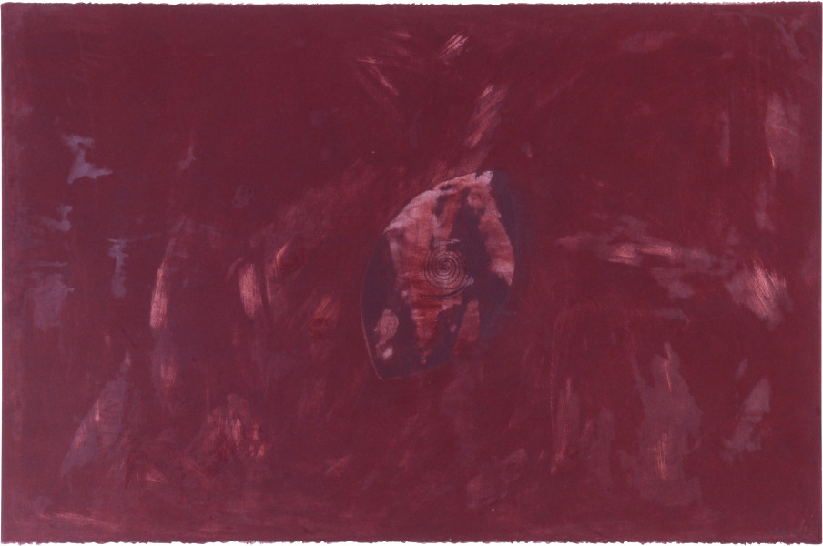 Fiona Foley Untitled I, 1998; charcoal, pastel and wax on paper; 67 x 101 cm; enquire