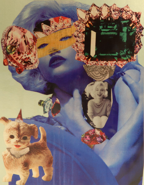 """Jacqueline Fraser """"Oh, you are so famous now you Jeff Koons devotee."""", 2007; 100 x 100 cm (framed); enquire"""