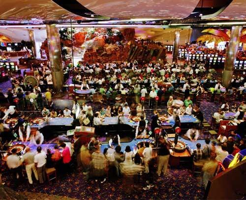 Anne Zahalka Star City Casino (after Breughel), 1998; type C photograph; 115 x 145 cm; Edition of 12; enquire