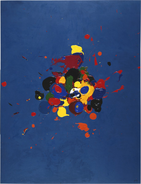 Dale Frank Saddam, Saddam. He's My Man., 1991; acrylic on linen; 260 x 200 cm; enquire