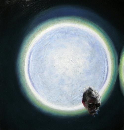 Louise Hearman Untitled #1130, 2005; oil on masonite; 47 x 45 cm; enquire