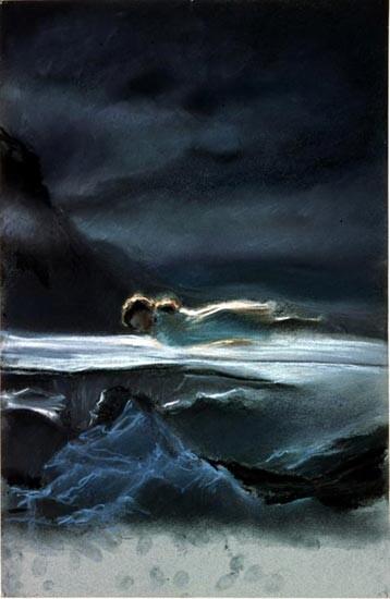Louise Hearman Untitled #587, 1997; pastel on paper; 50 x 33 cm; enquire