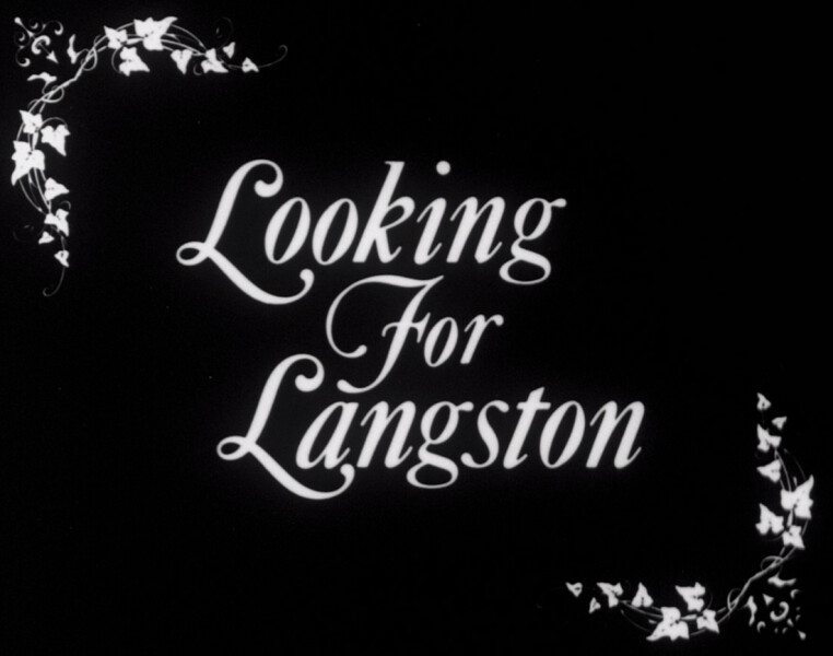 Isaac Julien Looking for Langston, 2016; 16 mm print on Kodak black and white stock; Duration: 45 mins; Edition of 6 + AP 2; enquire