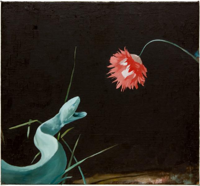 Glenn Sorensen No sunrise, 2011; oil on canvas; 37.5 x 40.5 cm; enquire