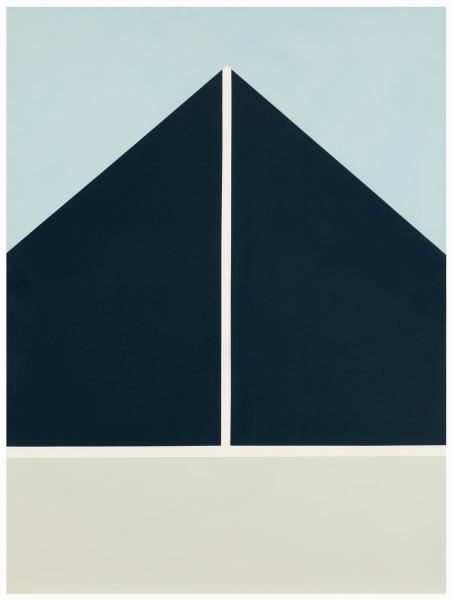 Esther Stewart Modern Living, 2014; enamel on board, framed; 120 x 90 cm; enquire