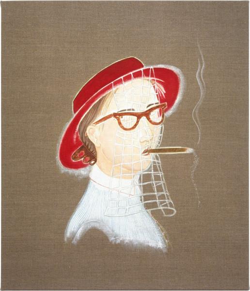 Vivienne Shark LeWitt Teresa of Avila, 2001; oil on linen; 71 x 61 cm; enquire