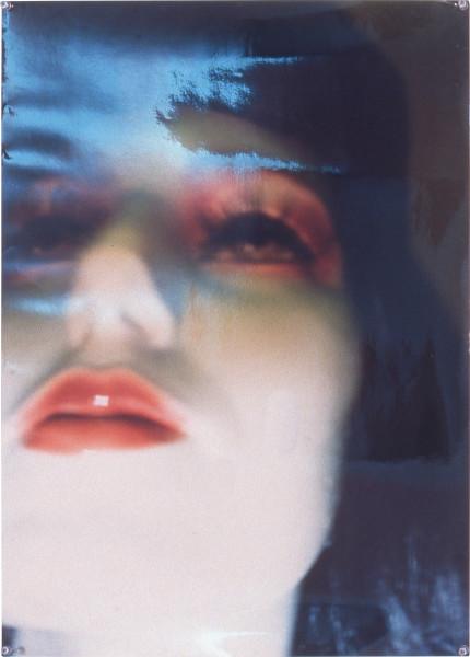 Justene Williams Soft Grip, 1993; laminated colour photograph; 75 x 55 cm; enquire